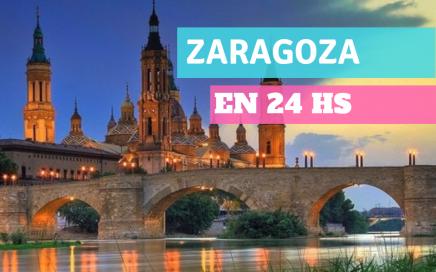 miniatura del post ciudad de zarogaza lago y puente durante el atardecer